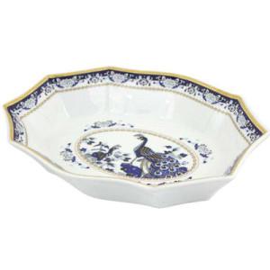 Porcelāna šķīvis zilā krāsa