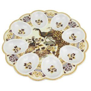 Porcelāna olu šķīvis 21cm