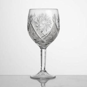 Kristāla vīna glāzes 250ml, 6gb.