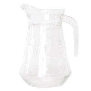 Stikla sulas krūze bez vāka 1.3L