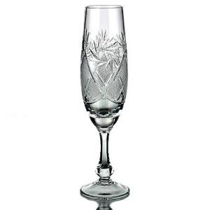 Krist. šampanieša glāzes 170ml, 6gb.