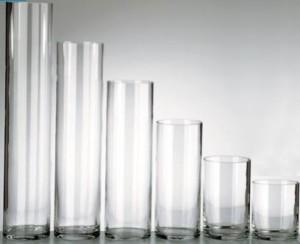 Stikla vāze CILINDRS 30cm NEMAN