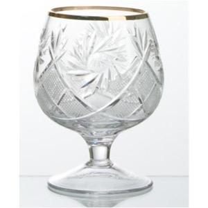Krist. glāze ar zeltu 150ml, 6gab.