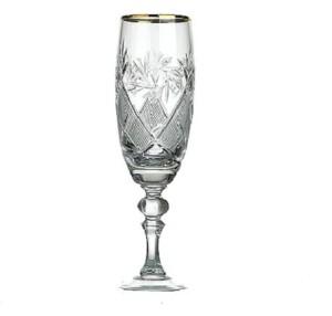 Krist. šampanieša glāzes 200ml, 6gb.