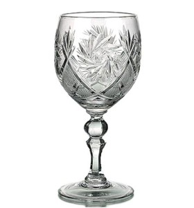 Kristāla vīna glāzes 250ml, 6gab.