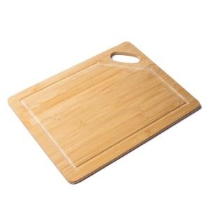 Sadales virtuves bambusa dēļis